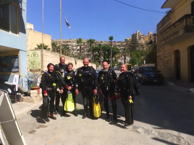 Gozo 2012 Dive Trip Report