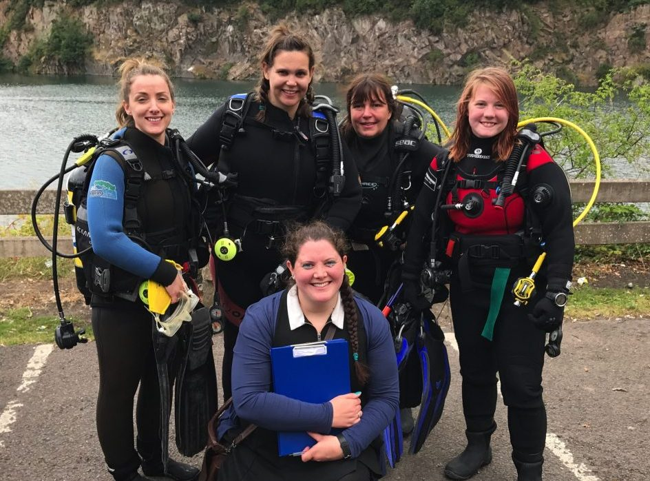 Rescue Course At Stoney & PADI Women's Dive Day