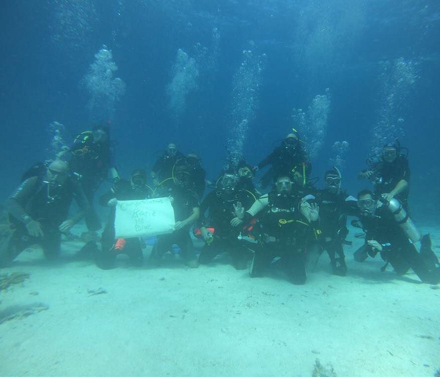Katie's 100th Dive