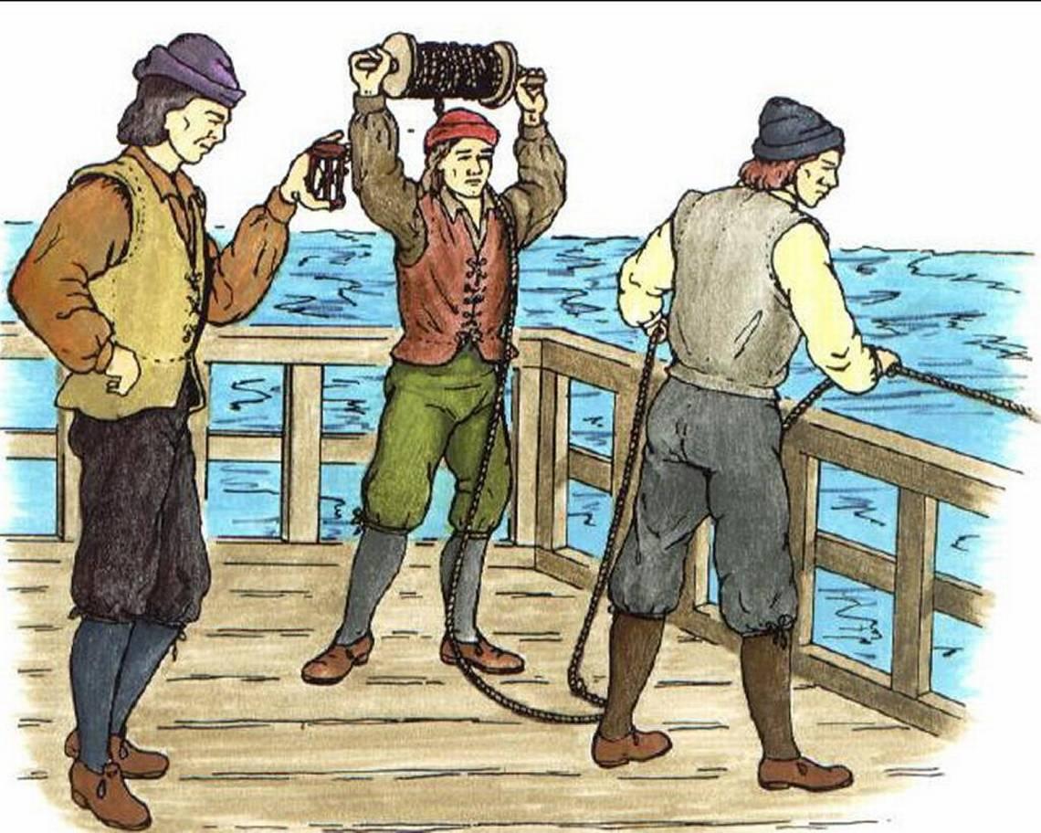 measuring nautical speed